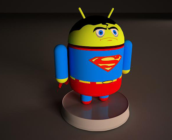 Superman Android - 3DOcean Item for Sale
