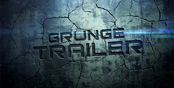 After Effects Project - VideoHive Grunge Trailer 2645051