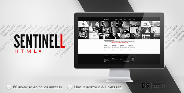 Sentinell HTML Template
