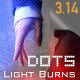 Light transitions & burns (AE project & footages) - 9