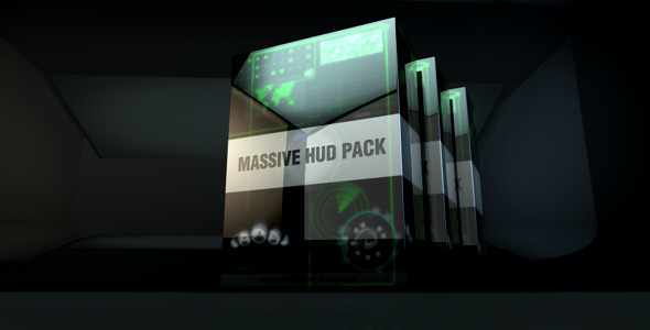 After Effects Project - VideoHive Massive Hud Pack 2652902