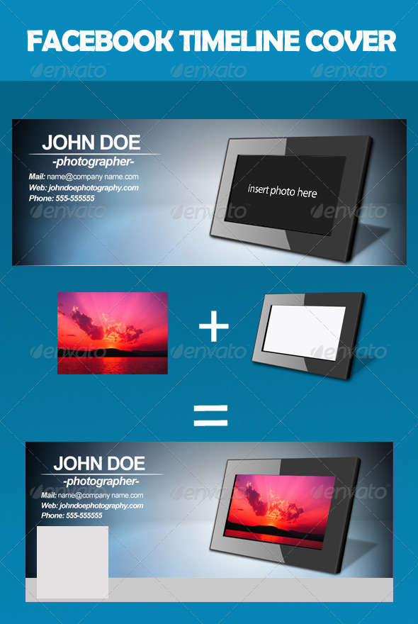 GraphicRiver Facebook Frame Cover 2652418