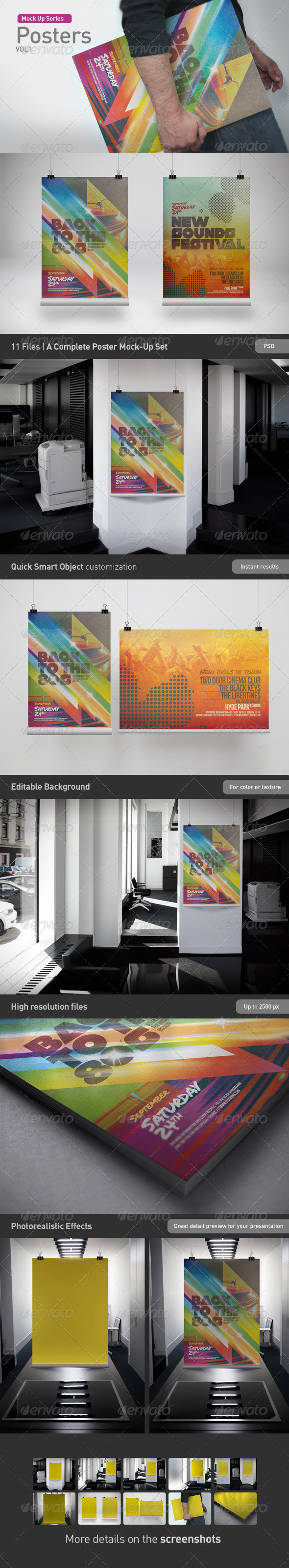 Poster Mock Up - Posters Print