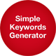 Simple Keywords Generator