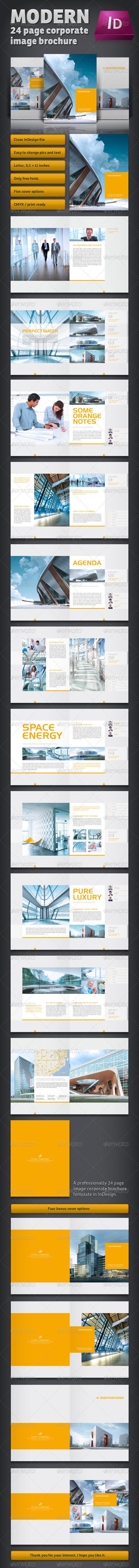 GraphicRiver Modern Brochure 2654666