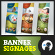 Multipurpose Outdoor Banner Signage 3 - GraphicRiver Item for Sale