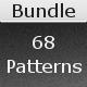 68 Tileable Patterns - Bundle - GraphicRiver Item for Sale