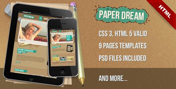 Paper Dream - Paper Dream
