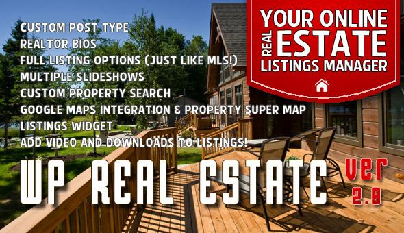 CodeCanyon WP Real Estate 2550021