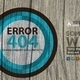 Wood And Grunge 404 Error Page PSD Template