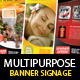 Fitness, Spa & Restaurant, Multipurpose Signage