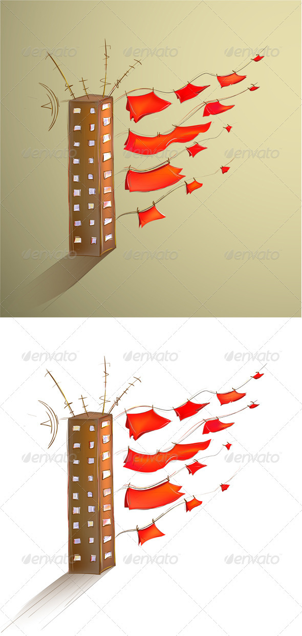 GraphicRiver Scarlet Sails on Land 2657953