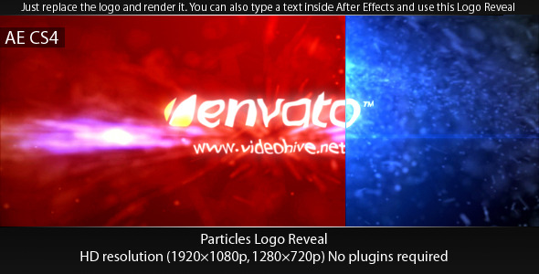 VideoHive Particles Logo Reveal 2650823