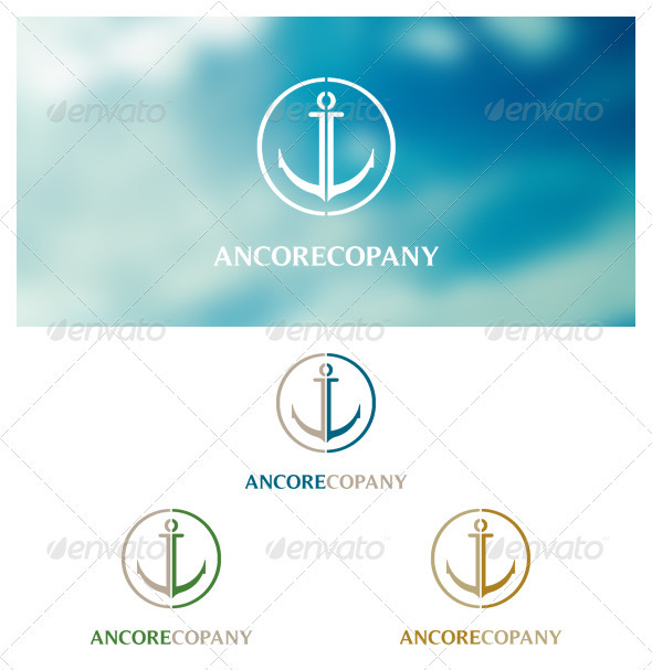 Ancorecopany - Symbols Logo Templates