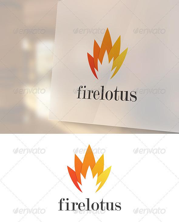 Firelotus Logo Template