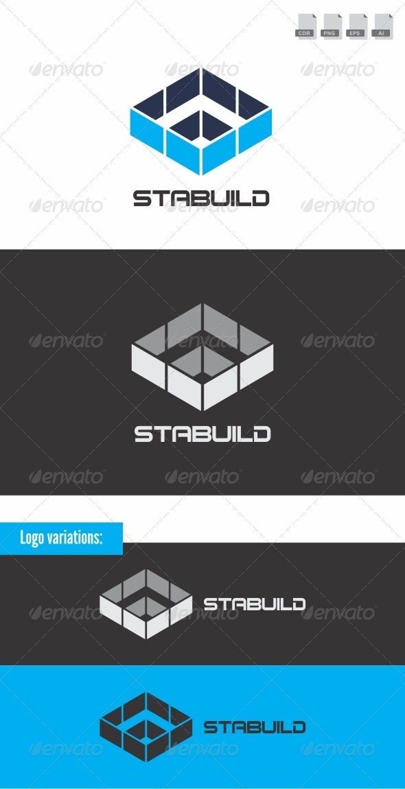 Stabuild - Buildings Logo Templates