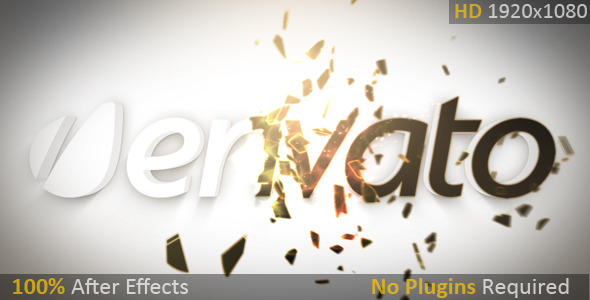 VideoHive Particle Shatter Reveal 2658335