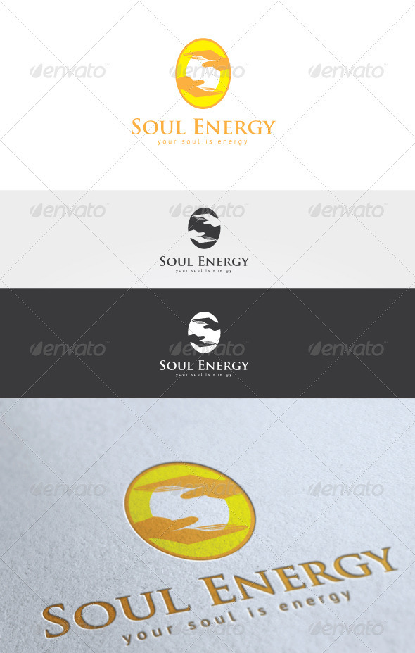 Soul Energy Logo - Humans Logo Templates