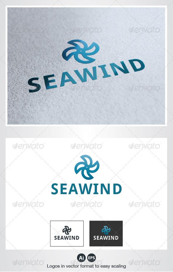 Sea Wind Logo - Symbols Logo Templates