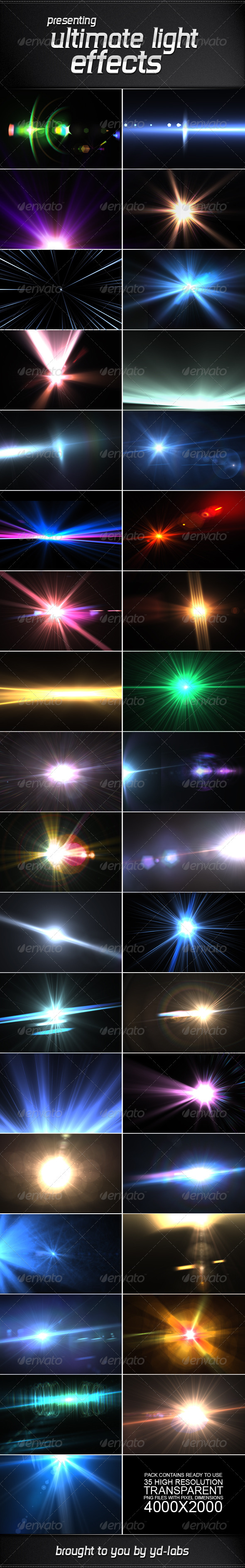GraphicRiver 35 Ultimate Light Effects Volume 3 2659075