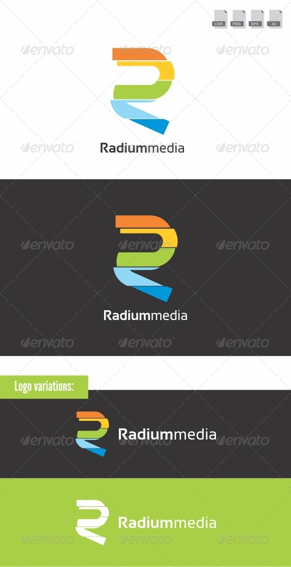 Radium Media - Letters Logo Templates