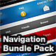 18 Unique Navigations - GraphicRiver Item for Sale