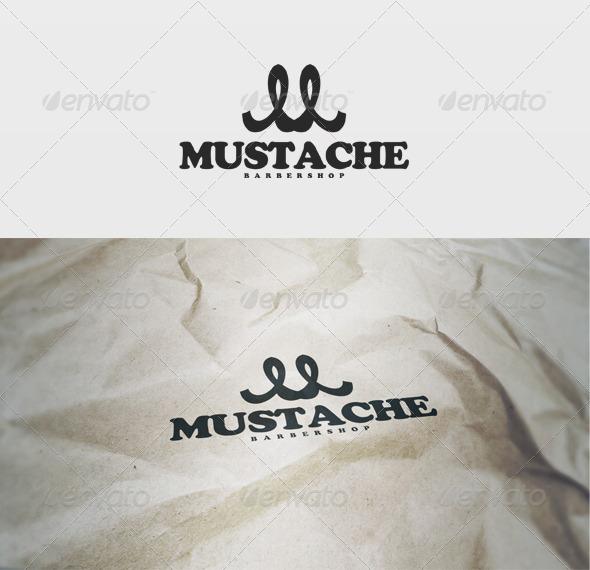 GraphicRiver Mustache Logo 2660607
