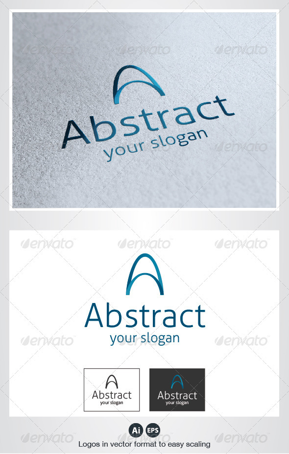 GraphicRiver Abstract A Letter Logo 2660739