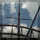 The Yacht Pass Under Bridge - VideoHive Item for Sale