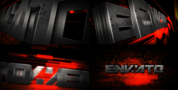 VideoHive Metal Transform Logo Reveal 2660858