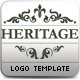 Heritage Logo Template - GraphicRiver Item for Sale