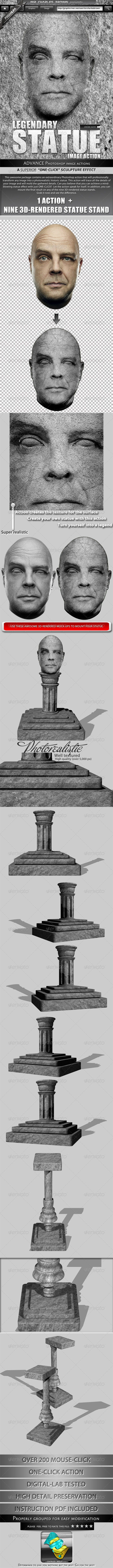 GraphicRiver Legendary Statue Image Action 2650322