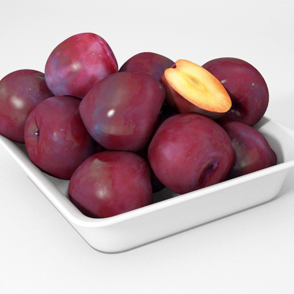 Plums - 3DOcean Item for Sale