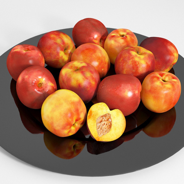 Nectarines - 3DOcean Item for Sale