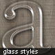 Beautiful Glass Text Styles  - GraphicRiver Item for Sale