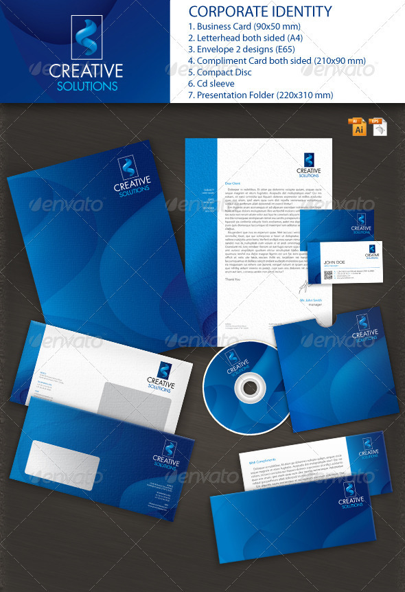 GraphicRiver Best Solutions Corporate Identity 2662918