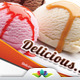 Ice Cream Shop and Bakery Marketing Postcard - GraphicRiver Item for Sale