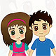 A Boy and Girl - GraphicRiver Item for Sale