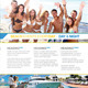 Beach Events Flyer - GraphicRiver Item for Sale