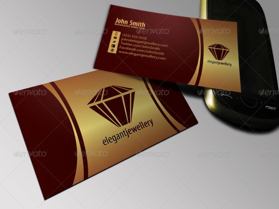 Jewelry Business Card Set by ObjectIdeas