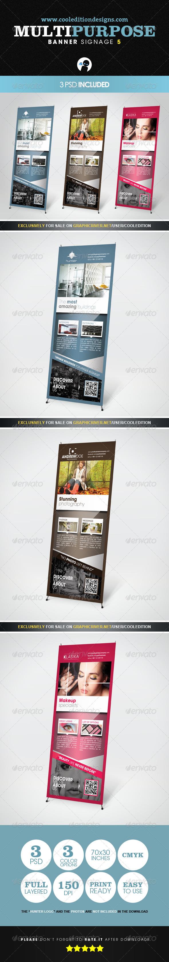 Multipurpose Banner Signage 5 - Signage Print Templates