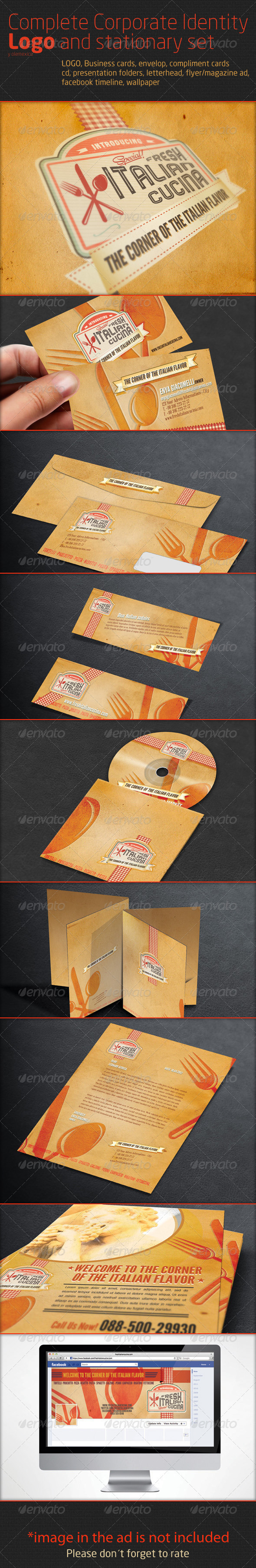 GraphicRiver Complete Corporate Identity Logo and stationary se 2665767