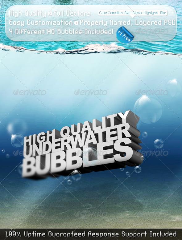 GraphicRiver HQ Underwater Bubbles 2665774