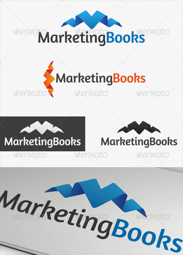 Marketing Books Business logo