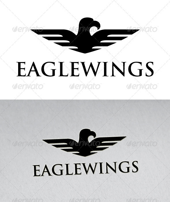 Eagle Wings Logo - Animals Logo Templates