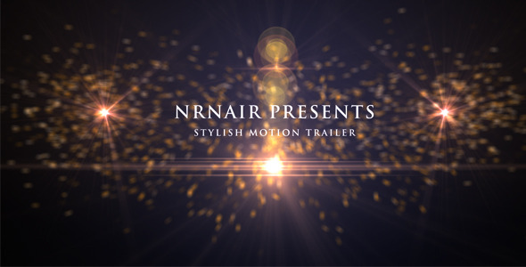 VideoHive Smooth Motion Trailer 2667539