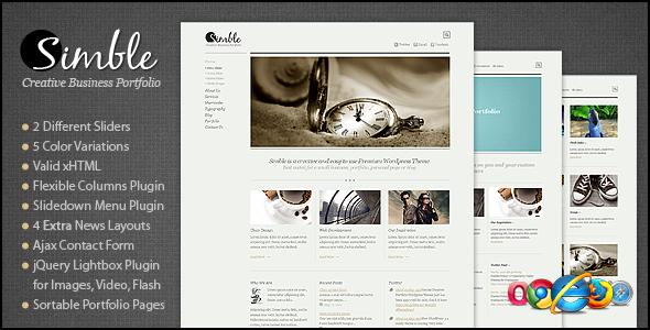 Simble Creative xHTML/CSS Template