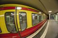U-Bahn Subway Train in Berlin