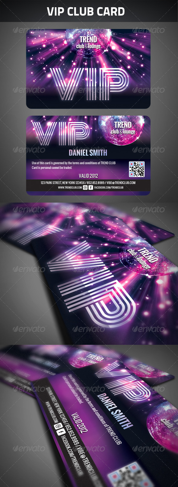 GraphicRiver VIP Club Membership Card 2660246