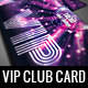 VIP Club Membership Card - GraphicRiver Item for Sale